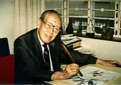 赵少昂:国画是艺术的最高峰