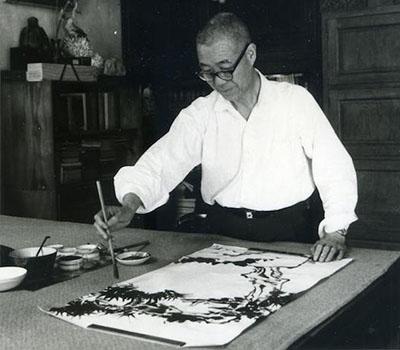 潘天寿谈中国画 ——艺术必须有独特的风格!