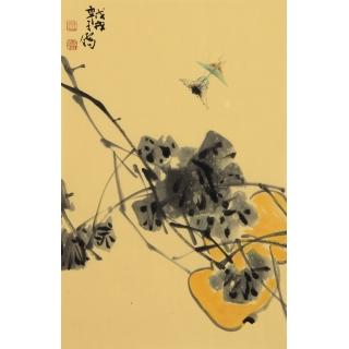 收藏必升值 王子儒老师新品写意葫芦图《福禄》