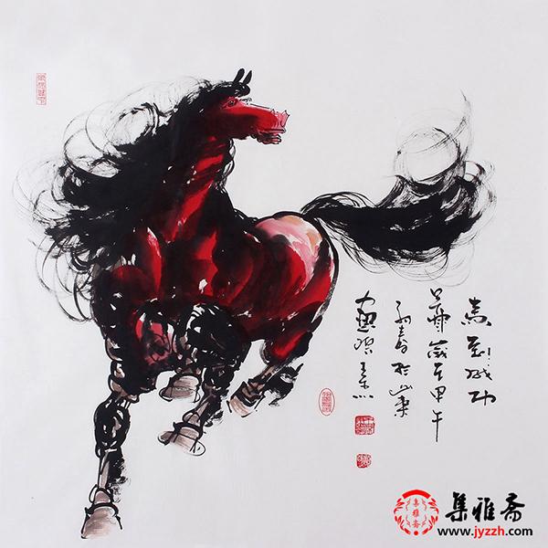马的手绘图